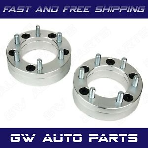 2 Pcs 2 Ram 1500 5x5 5 Conversion Adapter To 6x5 5 Chevy Wheels
