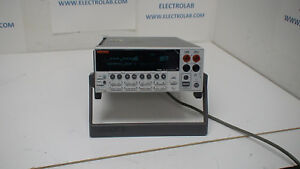 Keithley 2440 200mv To 40v 10 a To 5a 50 W Sourcemeter With Gpib
