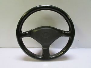 Jdm Genuine Toyota Sw20 Mr2 Original Stock Black Leather Steering Wheel