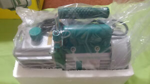 Refco Vacuum Pump Eco 5 467685 2 Stage 5 Cfm New Open Box Free Shipping