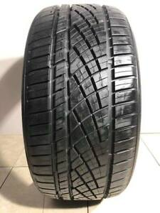 High Tread Used Tire 1 235 35r19 Continental Extremecontact Dws 06