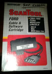 Actron Cp9112 Scantool Ford Cable Software Cartridge