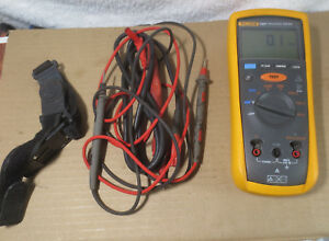 Fluke 1507 2gohm 1000v Insulation Resistance Tester With Leads