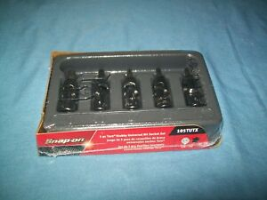 New Snap On 105tutx 1 4 Set Universal Stubby Torx 5 Piece Socket Driver Set