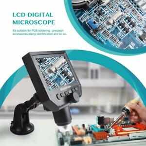 Microscope 4 3 Hd Oled 3 6mp 1 600x Magnifier G600 Portable Lcd 1080p Useful Dh