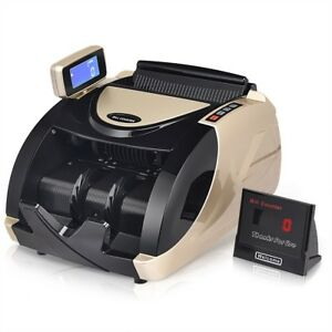 Shop Money Cash Currency Automatic Uv Bill Counter Portable 8 X 10 5 X 6 5 Us