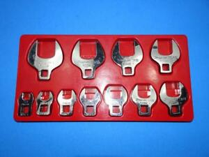 Snap On Tools 11pc 3 8 Drive Crowfoot Wrench Set Fco Series