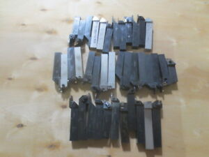 One Lot Of 39 Lathe Tools 1 00 Shank