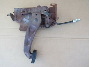 1961 1962 Pontiac Parking Brake Pedal Assembly Ventura Grand Prix Catalina Oem