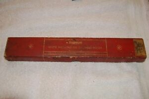 Vintage L s Starrett Inside Micrometer Calipers 124 Range 2 To 12 Inches Nice
