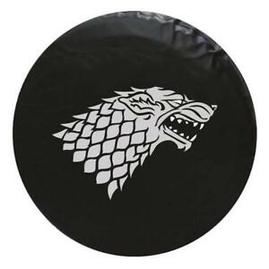 Game Of Thrones Dire Wolf Tire Cover Fits 33 Inch Diameter Tire Premium
