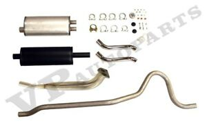 Exhaust System Volvo P1800 66 69 Twin Pipe