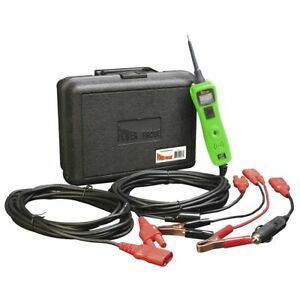 Power Probe 3 Iii Circuit Tester Voltmeter Kit W case Green Ppr 319ftc Gr