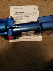 Graco Fuel Transfer Pump Fuel Or Diesel 260024 Gtp10