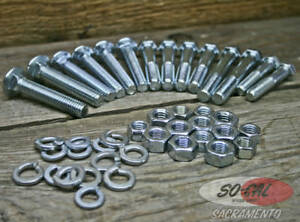 1928 31 Body Bolt Kit Closed Car Ford Model A Hot Rod Rat Street Vtg Stock Style