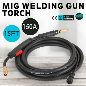 Miller Mig Welding Gun Torch Stinger 150a 15 ft Replacement M 150 M 15 249040