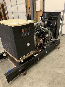 30kw Kohler Generator 3 Phase Propane And Natural Gas 27 Hours Free Shipping