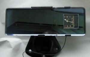 Ford Model A Rear View Mirror Clock Mansfield