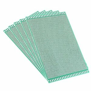 Uxcell 12x18cm Double Sided Universal Printed Circuit Board 12 X 18cm 5pcs