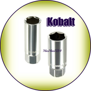 Kobalt Spark Plug Sockets 5 8 And 13 16 Lifetime Warranty Fast Shipping