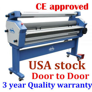 Usa Upgrade 55 Full auto Wide Format Cold Laminator Machine With Heat Assisted