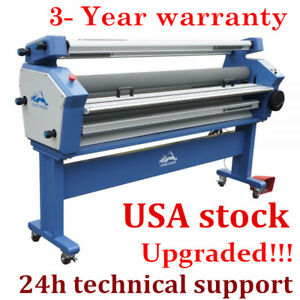 63 Full auto Large Format Cold Laminator Multi functional Heat Assisted Usa