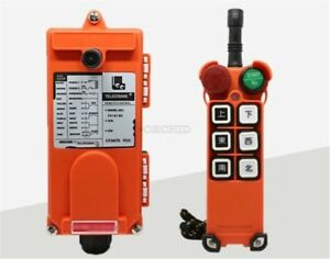 New F21 e1 Single Emitter Hoist Crane Radio Wireless Remote Control Ac 220v Bk