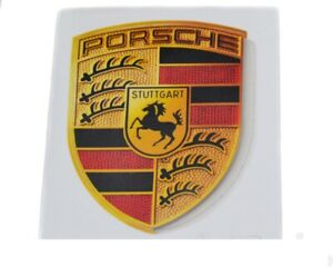 Porsche Genuine Decal Sticker