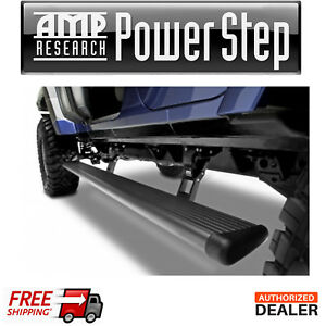 Amp Research Powerstep Retractable Step Bars For 2007 2018 Jeep Wrangler Jk 4dr