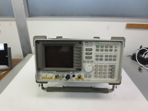 Hp Agilent 8591c Cable Tv Analyzer 1 Mhz 1 8 Ghz Calibrated