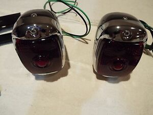 40 41 46 47 48 49 50 51 52 53 Chevrolet Chevy Gmc Truck New 2 Black Taillights