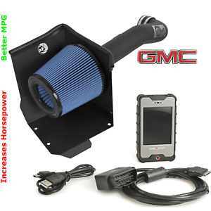 Combo Power Programmer Air Intake 2015 2018 Gmc Sierra 1500 6 2l 38hp Mpg