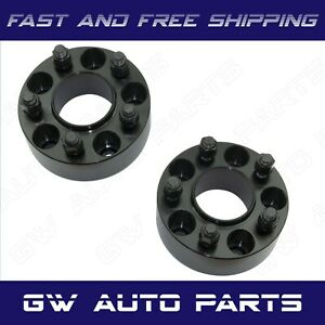 2 Black 3 Hub Centric Wheel Spacer 5x5 Or 5x127 Cb 71 5mm 14x15 Jeep