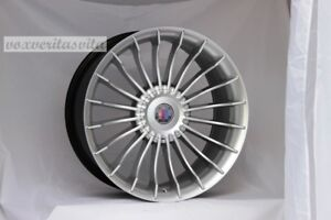 New Set Of 4 Wheels 20 Alpina Style Hyper Silver Fits Bmw 3 4 5 Series Z3 Z4