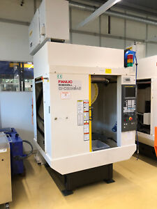 2014 Fanuc Robodrill A d21mia5 5 Axis Cnc Vertical Machining Center 24k Spindle