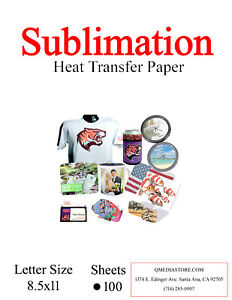 High Quality Dye Sublimation Transfer Paper 1 000 Sheets 8 5x11