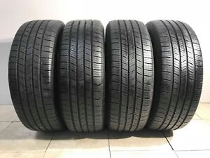 Matching Set Of 4 High Tread Tires 225 60r16 Michelin Defender Xt
