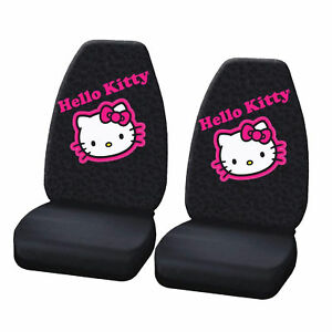 New Hello Kitty Collage High Back Seat Covers Universal Fit