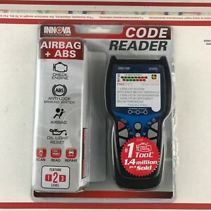 Innova 3100j Check Engine Code Reader Scan Tool With Abs Srs Evap
