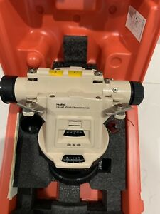 David White Lt8 300lp Laser Plummet Universal Transit level