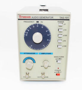 Low Frequency Audio Signal Generator Signal Source 10hz 1mhz Tag 101 8w 110v New