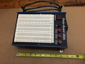 Continental Specialties 203a Proto board With 5 And 15 Vdc Power Supplies