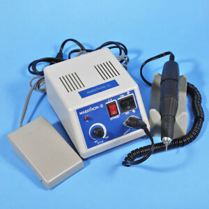 Dental Lab Marathon Micromotor Polisher With 35krpm Motor Polishing Handpiece Us