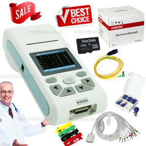 Ecg90a Touch Single Channel Ecg Machine 12 Lead Ekg With Pc Software new