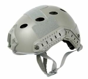 Lancer Tactical Specops Military Style Helmet Pj Type With Rails Velcro New