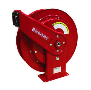 Reelcraft Hd76000 omp 3 8 X 75 Medium Pressure Oil Hose Reel 3000psi
