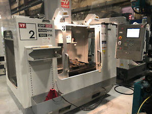 2006 Haas Vf 2d Cnc 4th Axis Ready Vertical Machining Center 10k Spindle