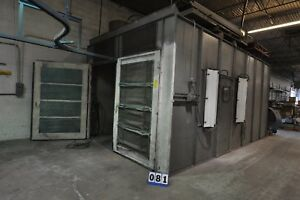 Devilbiss Powder Coat Coating Paint Spray Booth 20 lx12 wx12h Expandable To 24 l