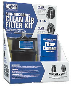 1 4 Clean Air Filter Kit Mot m45 Brand New