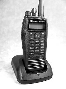 Mint Motorola Xpr6550 Uhf Mototrbo Portable Radio W accessories